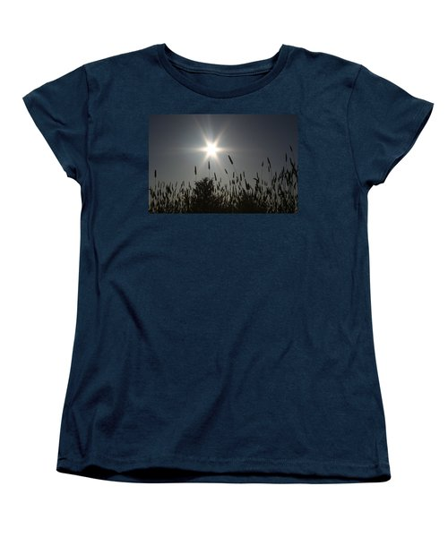 Women's T-Shirt (Standard Cut) featuring the photograph From Where I Sit by Holly Ethan
