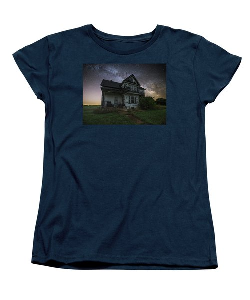 Women's T-Shirt (Standard Cut) featuring the photograph Front Porch  by Aaron J Groen