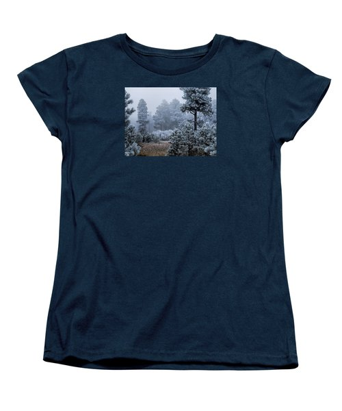 Frosted Women's T-Shirt (Standard Cut) by Alana Thrower