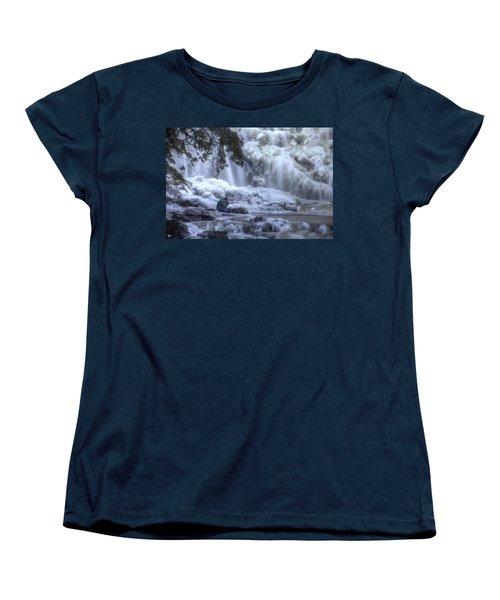 Frozen Falls Women's T-Shirt (Standard Cut)