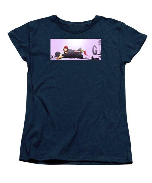 Fruitcake By The Ocean Women's T-Shirt (Standard Cut) by John Jr Gholson