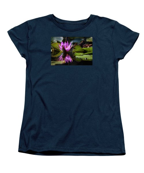Women's T-Shirt (Standard Cut) featuring the photograph Fuchsia Dreams by Suzanne Gaff