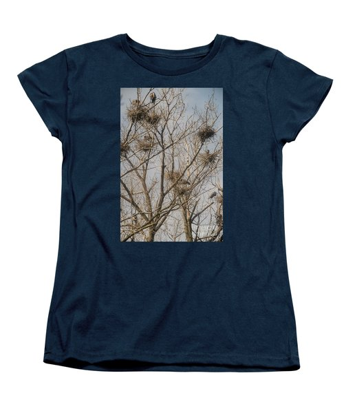 Women's T-Shirt (Standard Cut) featuring the photograph Full House by David Bearden