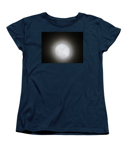 Full Moon Ring Women's T-Shirt (Standard Cut) by Kathy Long