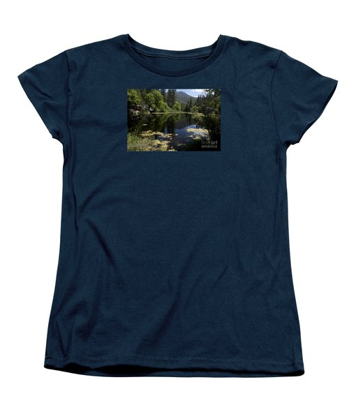 Fulmor Lake Women's T-Shirt (Standard Cut) by Ivete Basso Photography