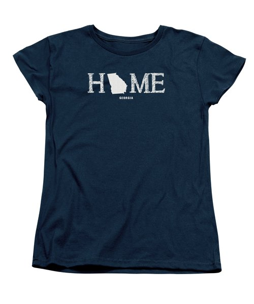 Ga Home Women's T-Shirt (Standard Cut) by Nancy Ingersoll