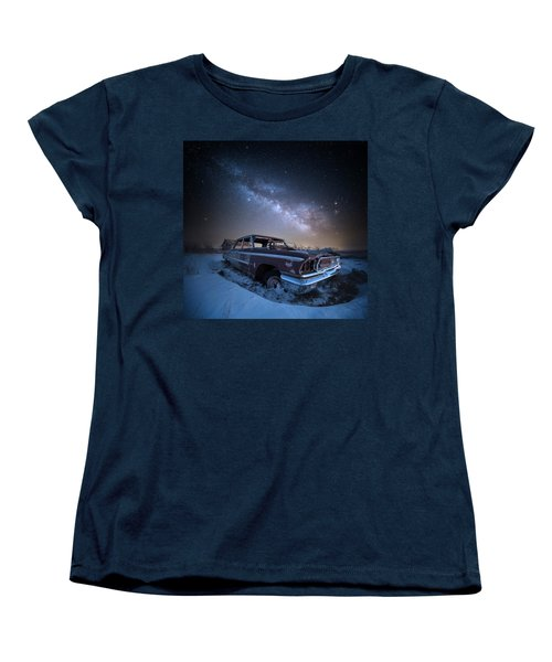Women's T-Shirt (Standard Cut) featuring the photograph Galaxie 500 by Aaron J Groen