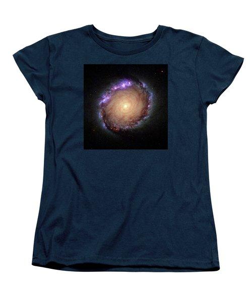 Galaxy Ngc 1512 Women's T-Shirt (Standard Cut) by Hubble Space Telescope