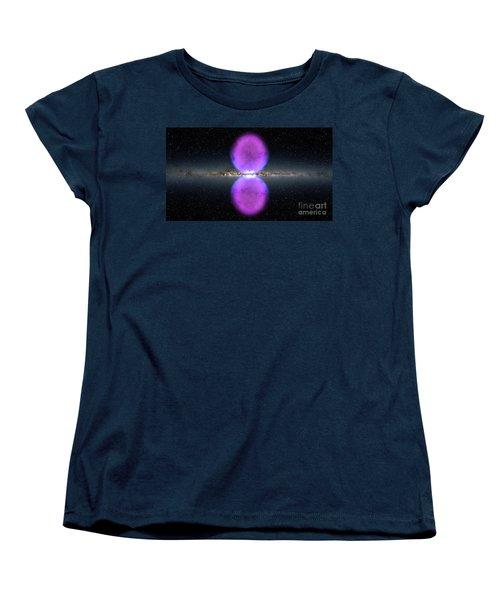 Gamma Ray Bubbles Women's T-Shirt (Standard Cut) by Rod Jellison