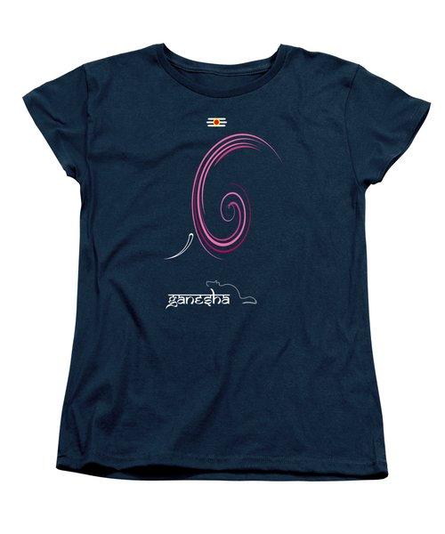 Ganesha Design Women's T-Shirt (Standard Cut) by Tim Gainey