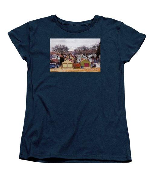 Garages Women's T-Shirt (Standard Cut)