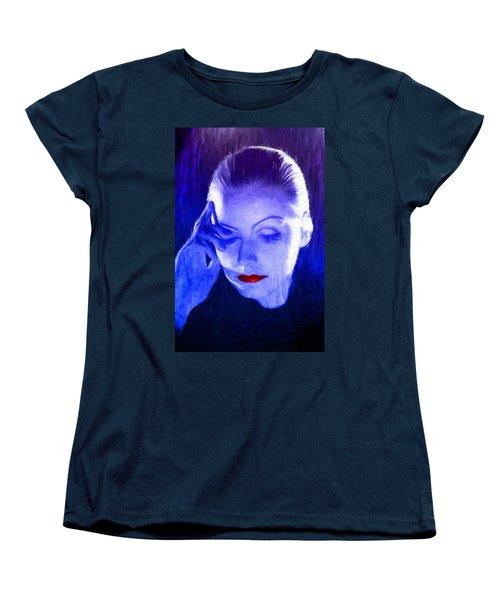 Garbo Women's T-Shirt (Standard Cut) by Caito Junqueira