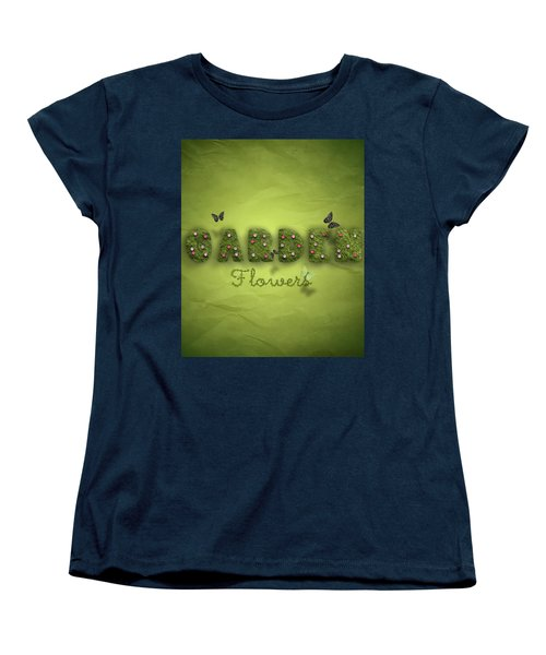 Garden Women's T-Shirt (Standard Cut) by La Reve Design