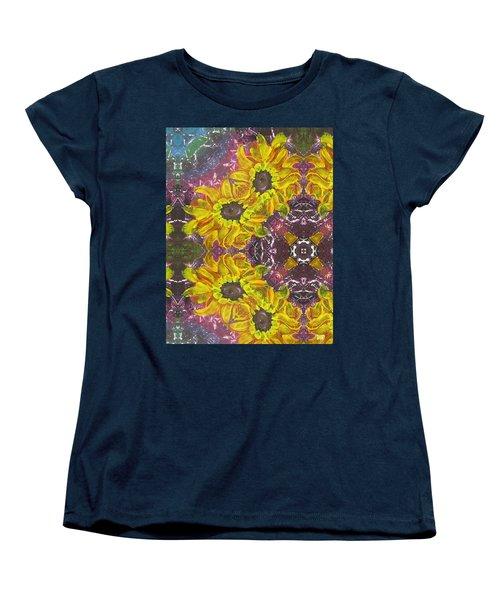 Garden Owls Women's T-Shirt (Standard Cut) by Maria Watt