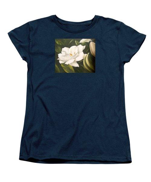 Gardenia Women's T-Shirt (Standard Cut)