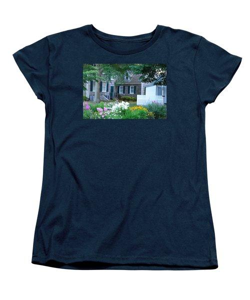Gardens At The Burton-ingram House - Lewes Delaware Women's T-Shirt (Standard Cut)
