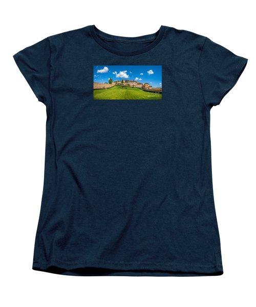 Gardens Of Assisi Women's T-Shirt (Standard Cut) by JR Photography