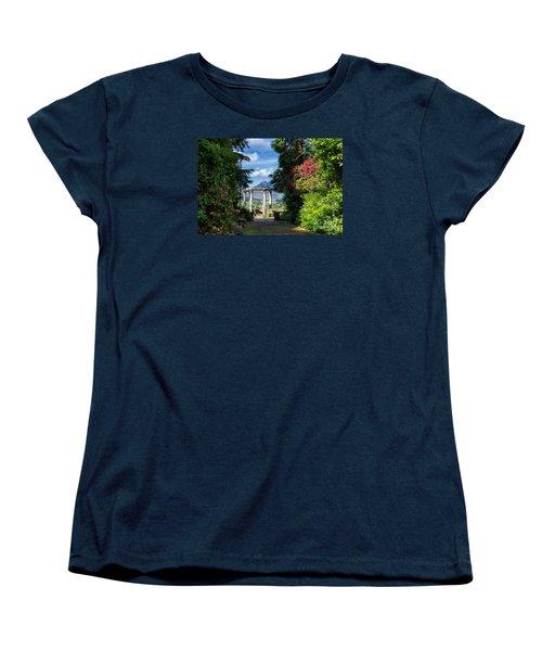 Women's T-Shirt (Standard Cut) featuring the photograph Garinish Island by Juergen Klust