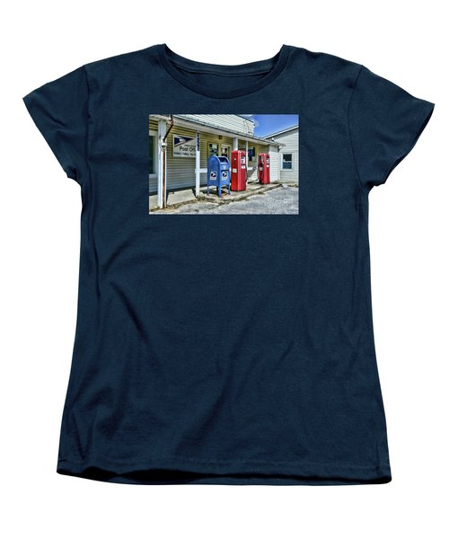 Women's T-Shirt (Standard Cut) featuring the photograph Gas And Mail by Paul Ward