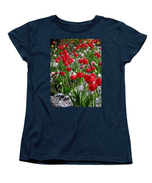 Gathering Of Joy Women's T-Shirt (Standard Cut) by Rory Sagner