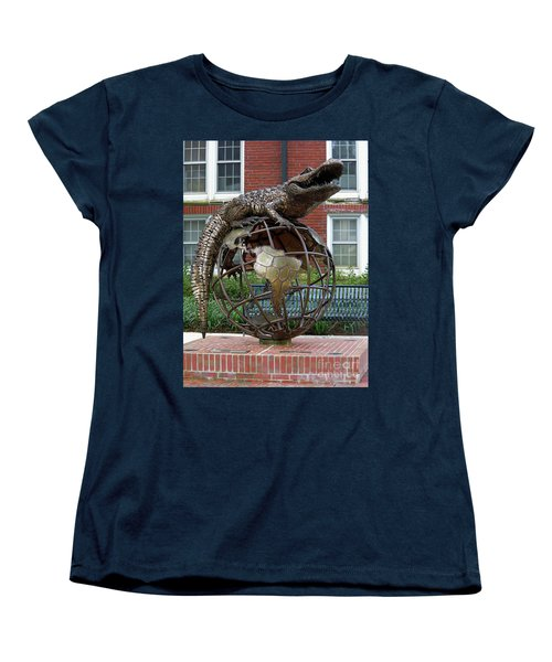 Gator Ubiquity Women's T-Shirt (Standard Cut) by D Hackett