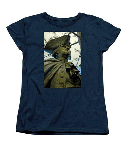 General George Washington Women's T-Shirt (Standard Cut) by LeeAnn McLaneGoetz McLaneGoetzStudioLLCcom