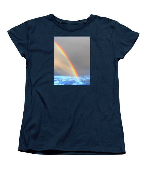 Genesis Rainbow Women's T-Shirt (Standard Cut) by Lanita Williams