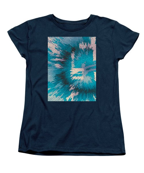 Genetic Modification Flower Women's T-Shirt (Standard Cut) by Moustafa Al Hatter