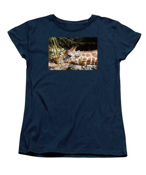 Gentle Beauty Women's T-Shirt (Standard Cut) by Donna Brown