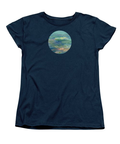 Gentle Light On The Water Women's T-Shirt (Standard Cut) by Mary Wolf