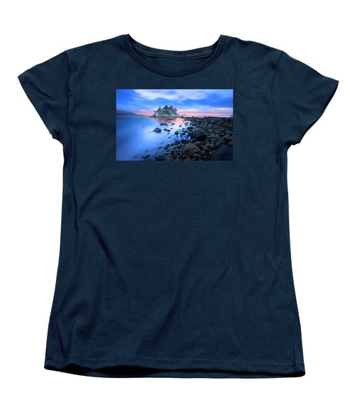 Women's T-Shirt (Standard Cut) featuring the photograph Gentle Sunrise by John Poon