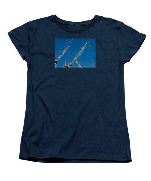 Geometry Of The Carnes Women's T-Shirt (Standard Cut) by Gary Slawsky