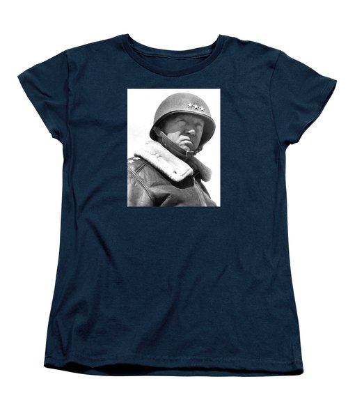 George S. Patton Unknown Date Women's T-Shirt (Standard Cut) by David Lee Guss