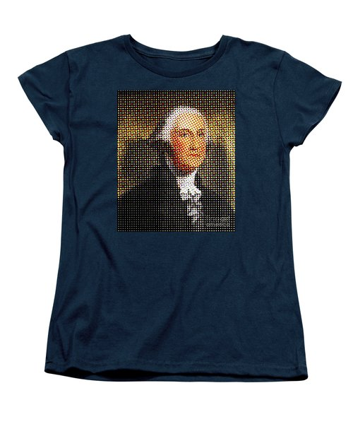 George Washington In Dots  Women's T-Shirt (Standard Cut) by Paulo Guimaraes