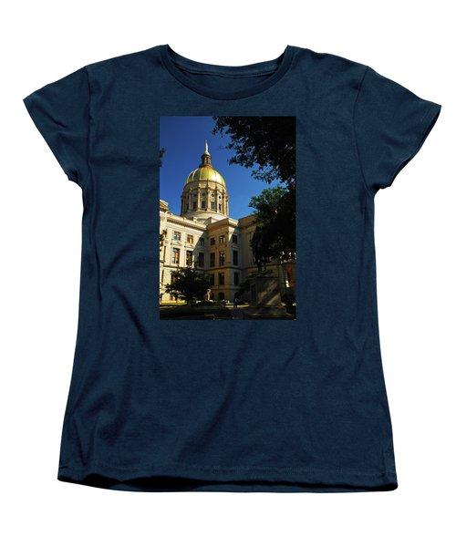 Georgia State Capitol Women's T-Shirt (Standard Cut)