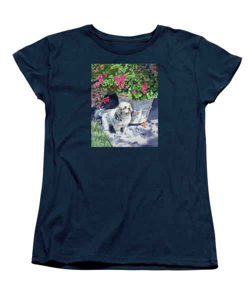 Georgie Women's T-Shirt (Standard Cut) by Irina Sztukowski