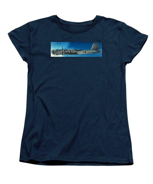 German Aircraft Of World War  Two Focke Wulf Condor Bomber Women's T-Shirt (Standard Cut)