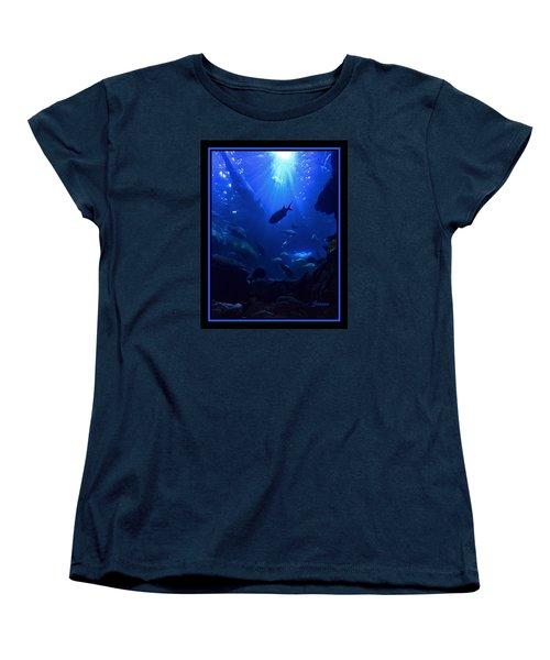 Getting Along Women's T-Shirt (Standard Cut) by Steven Lebron Langston