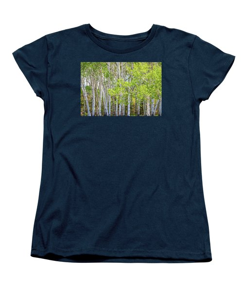 Getting Lost In The Wilderness Women's T-Shirt (Standard Cut) by James BO Insogna