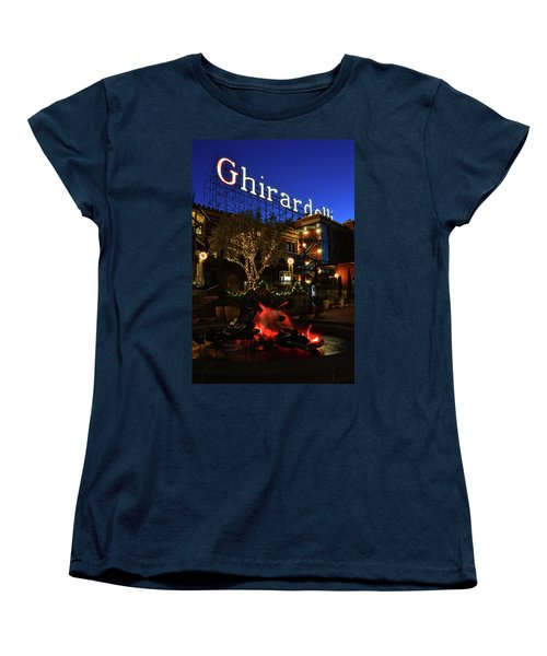 Ghirardelli Square Women's T-Shirt (Standard Cut) by James Kirkikis