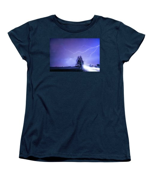 Women's T-Shirt (Standard Cut) featuring the photograph Ghost Rider by James BO Insogna