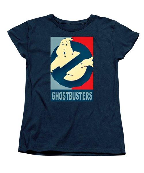 Ghostbusters Women's T-Shirt (Standard Cut) by Paul Van Scott