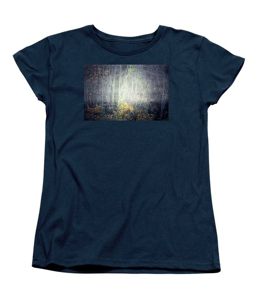 Women's T-Shirt (Standard Cut) featuring the photograph Ghosts Of The Forest 2 by Tara Turner
