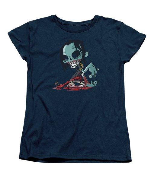 Ghoul T-shirt Women's T-Shirt (Standard Cut) by Herb Strobino