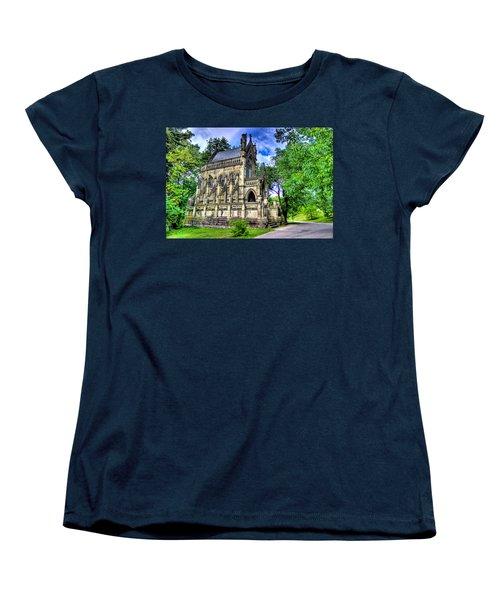 Giant Spring Grove Mausoleum Women's T-Shirt (Standard Cut) by Jonny D