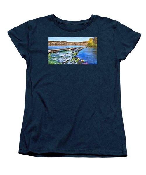 Giant Springs 3 Women's T-Shirt (Standard Cut) by Susan Kinney