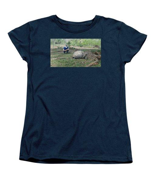Giant Women's T-Shirt (Standard Cut) by Will Burlingham