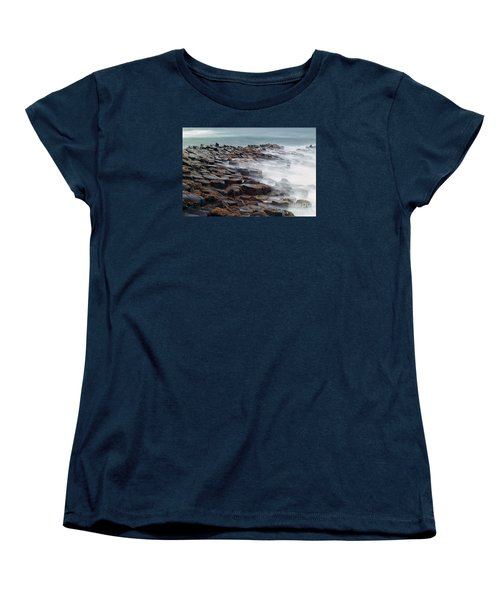 Giants Causeway Women's T-Shirt (Standard Cut) by Juergen Klust