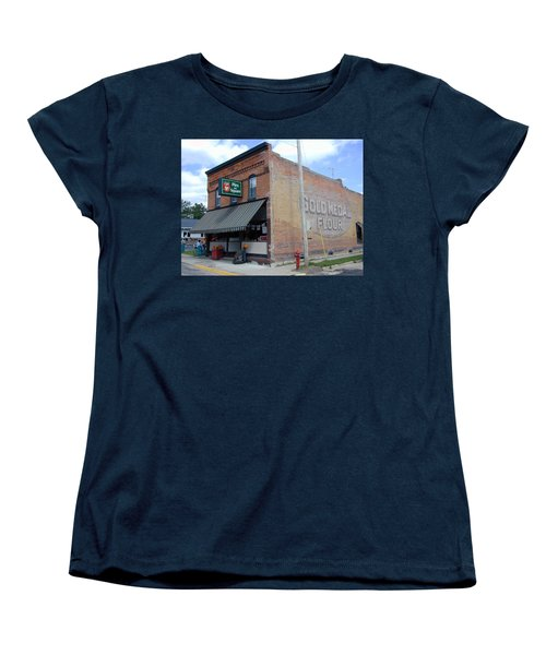 Women's T-Shirt (Standard Cut) featuring the photograph Gina's Pies Are Square by Mark Czerniec