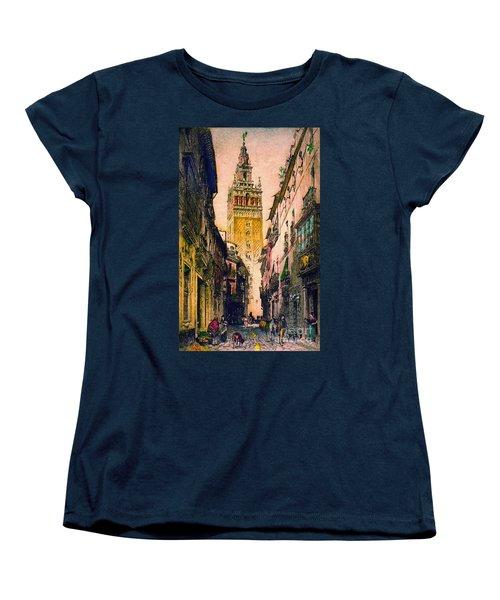 Giralda 1916 Women's T-Shirt (Standard Cut) by Padre Art